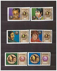 S31803) Guinea 1972 MNH Agaist Racism 6v Imperforado
