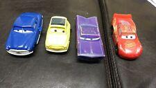 Disney Pixar Cars movie toys from Mcdonalds x4