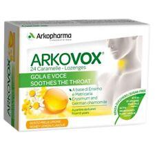 Arkopharma Arkovox Miele Limone Gola e Voce 24 Caramelle