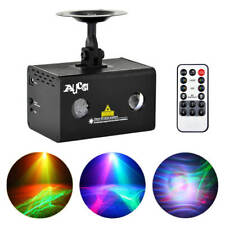 Mini RGB LED Aurora Mixed RG Laser Projector Light DJ Party Home Stage Lighting