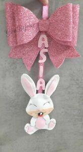 Fiocco nascita bimbo/a coniglietto fiocco gomma eva crepla nome personalizzato