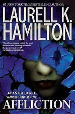 Affliction  (ExLib) by Laurell K. Hamilton