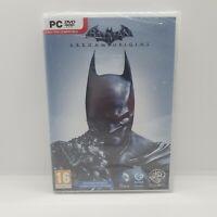 Batman Arkham Origins Pc Dvd Rom New And sealed  2013 Dc Comics Wb Games