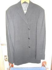 MARKS AND SPENCER MENS SUIT JACKET IN CHARCOAL 38 MEDIUM