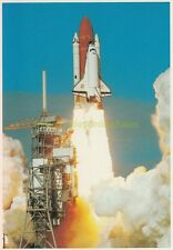 NOS 1985 SPACE Shuttle DISCOVERY First LIFT OFF Postcard