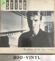 STING Dream Of The Blue Turtles A&M Lyric Insert & Inner UK VINYL LP NM