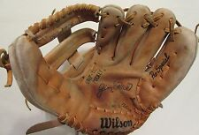 "11"" Wilson Jim Rice Pro Special Leather Baseball Glove Mitt Right Hand Throw"
