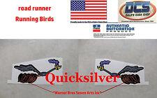 1969 70 Road Runner Driver & Passenger Side Running Bird Decals 2964112 2964113