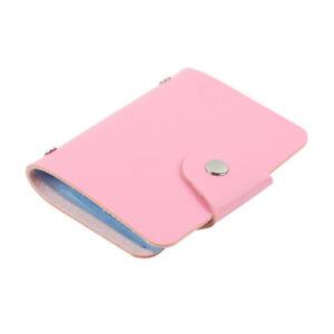 PU Leather Function 24 Bits Card Case Business Card Holder Credit Passport Bag
