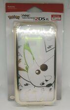 Pokemon - New Nintendo 2DS XL Gold Pikachu Duraflexi Protector Cover Case HORI