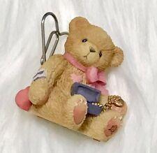 Enesco Priscilla Hillman Mini Tiny Teddy Bear Heart Collectable Figurine (2000)