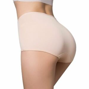 1 Pc Women's Underwear Intimates Panties High Waist Triangle Underpants Non-trac