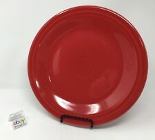 "Fiesta Scarlet Red Dinner Plate 10 1/2"" Diameter - Nice! - Many Available!"