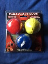 WALLY EASTWOOD JUGGLER LIVE ON DVD - AUTOGRAPHED W/JUGGLING BALLS