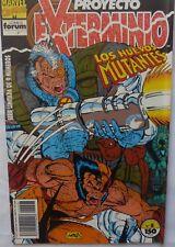 Comic Proyecto Exterminio,1992,Los Nuevos Mutantes,Stan Lee, Numero 8