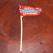 Eagle game Team Flag with post Montreal Canadians 1950's table top  hockey game,