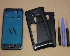 COQUE COMPLETE REMPLACEMENT FACADE CHASSIS POUR SAMSUNG GALAXY S2 II i9100 NOIR