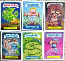 GARBAGE PAIL KIDS BRAND NEW SERIES 2 LOT of 6 OPENED CARDS BNS 2 (lot #7)
