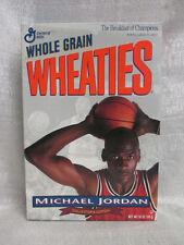 Michael Jordan Chicago Bulls Collectible Wheaties Never Been Open Cereal Box
