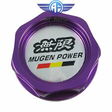 New Purple Engine Oil Filler Cap Tank Cover Mugen Aluminum For Honda Acura Civic