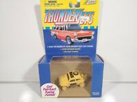Johnny Lightning ThunderJets Race Car Baja Bug Yellow White Lightning Chase NIB