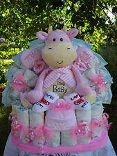 """Windeltorte""""Little Baby und Babyset """"Geburt,Taufe,Geburtstag! rosa"""