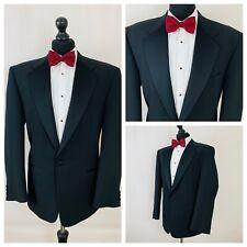 Mens Tuxedo Dinner Suit Jacket Chest 42 Short Black Formal  GR484