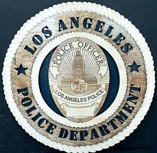 LOS ANGELES POLICE DEPT (LAPD) PLAQUE