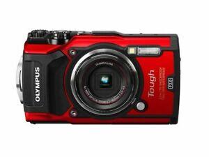 [NEAR MINT] Olympus Tough TG-5 12.0MP Digital Camera - Red from JAPAN (N237)