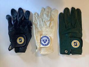 Foot-Joy Sta-Soft Left Handed Golf Glove Lot