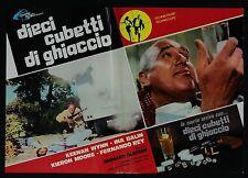 FOTOBUSTA 3, DIECI CUBETTI DI GHIACCIO Run Like a Thief GLASSER THRILLER POSTER