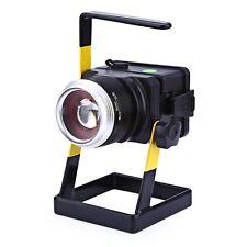 3.7V 10W 1000LM  3 Modes Rechargeable LED Floodlight Spotlight Fishing Lamp SUK