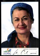 Ursula Cantieni Die Fallers Autogrammkarte Original Signiert ## BC 6901