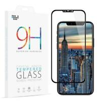 Für iPhone X Schutzglas Curved Display Schutz Folie Full Screen Echt Glas 4D
