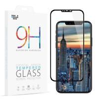 Für iPhone X Schutzglas Curved Display Schutz Folie Full Screen Echt Glas 4D