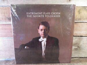 ENTREMONT Plays Chopin The Favorite Polonaises LP Record Album Vinyl