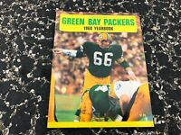 1968 GREEN BAY PACKERS NFL FOOTBALL YEARBOOK - RAY NITSCHKE - SUPER BOWL