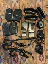 TWO BlackBerry Torch 4G smartphones - 9800 & 9810 with many accessories!