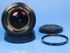 Minolta Maxxum AF 50mm 1:1.4 f/1.4 for Sony Alpha A Mount w/ Filter & Caps