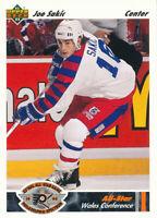 Joe Sakic 1991-92 Upper Deck #616 Nordiques Hockey Card