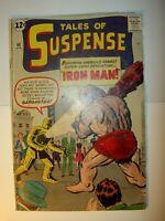 Tales of Suspense #40 GD+, 1963, Gargantus app., Stan Lee story, Jack Kirby art,