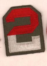 2nd Army Army patch