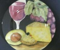 "American Atelier Napa Salad Plate Avocado & Cheese 8 1/4"""