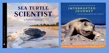 KIDS BOOKS about  Turtles 2 Book Set: Sea Turtle Scientist & Interrupted Journey