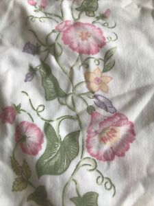 VINTAGE DORMA Country Diary Wildflower Duvet Cover Double