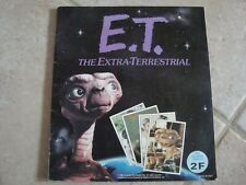 album d images vignettes panini E.T/ L EXTRA TERRESTRE /spielberg/goldorak/popy