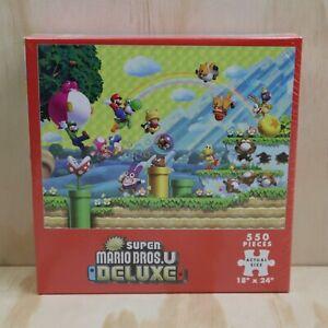 2019 Nintendo New Super Mario Bros U Deluxe 550 Piece Puzzle - New