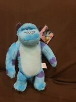 "1 Pc of Sulley Monsters University Inc 14"" Large Animal Plush Stuffed USA Stock"