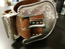 Anthropology Another Line & Co. Belt Mens Size 34 Western / Cowboy /Southwestern