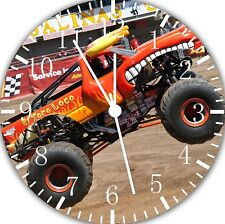 Big Truck Frameless Borderless Wall Clock Nice For Gifts or Decor E298